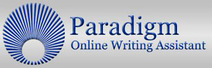 Logo for Paradigm Online Writing Assistant